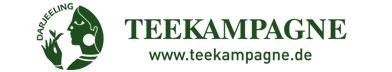 Teekampagne Banner mit Logo und URL